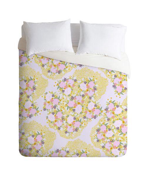 Deny Designs Iveta Abolina Babette Garden Twin Duvet Set