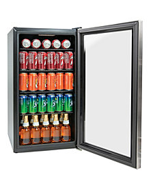 Igloo 3.5 Cu. Ft. Beverage Cooler, Stainless Steel