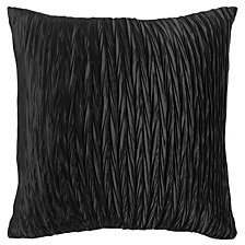 "Rizzy Home Black 18"" X 18"" Solid Braid Poly Filled Pillow"