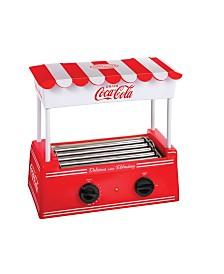 Nostalgia Coca-ColaHot Dog Roller And Bun Warmer