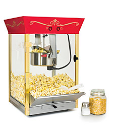 Nostalgia Ccp610 Vintage 8-Ounce Commercial Popcorn & Concession Cart - 59 Inches Tall