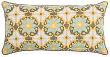 Laura Fair Fractured Ikat Pillow Collection