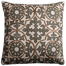 "18"" x 18"" Medallion Pillow Collection"