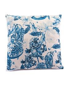 CLOSEOUT! Zuo  Ramo Blue Pillow