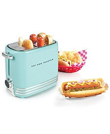 2-Slot Hot Dog Toaster, Aqua