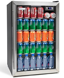Igloo 80-Can Stainless Steel Beverage Cooler