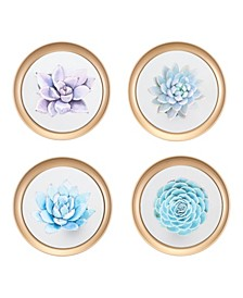 Wall Plates, Set Of 4