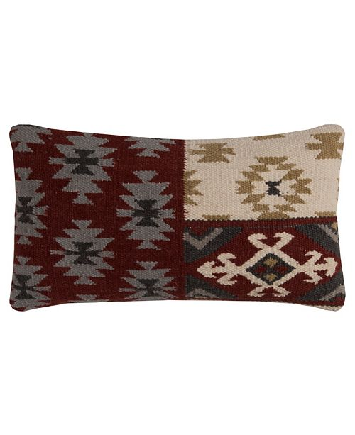 """Rizzy Home 11"""" x 21"""" Southwest Pillow Collection"""
