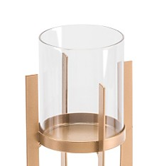 Zuo Equis Small Gold Candle Holder