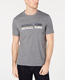 Michael Kors Mens Graphic Logo T-Shirt