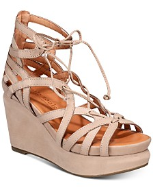 Gentle Souls by Kenneth Cole Women's Joy Platform Wedge Sandals