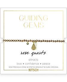 Kitsch Guiding Gems Beaded Stretch Bracelet