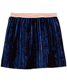 Carter's Little & Big Girls Velvet Pleated Skirt