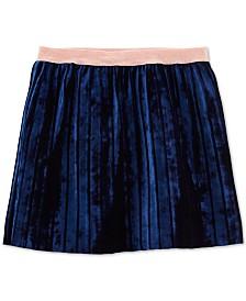 Carter's Little & Big Girls Velvet Pleated Skirt