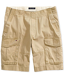 Tommy Hilfiger Adaptive Men's Cargo Shorts with Velcro Closure