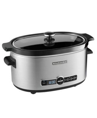 Macys deals on KitchenAid KSC6223 6 Qt. Slow Cooker