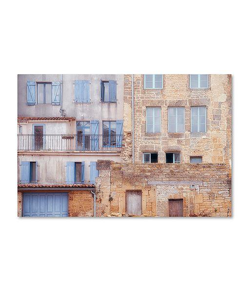 """Trademark Global Cora Niele 'Facade I' Canvas Art, 30"""" x 47"""""""