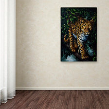 Jenny Newland 'Watchful Eyes' Canvas Art