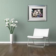 "Jenny Newland 'Lovable Westies' Matted Framed Art, 16"" x 20"""