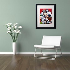 """Jenny Newland 'Picture Day' Matted Framed Art, 16"""" x 20"""""""
