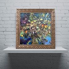 Nick Bantock 'Tree of Life' Ornate Framed Art