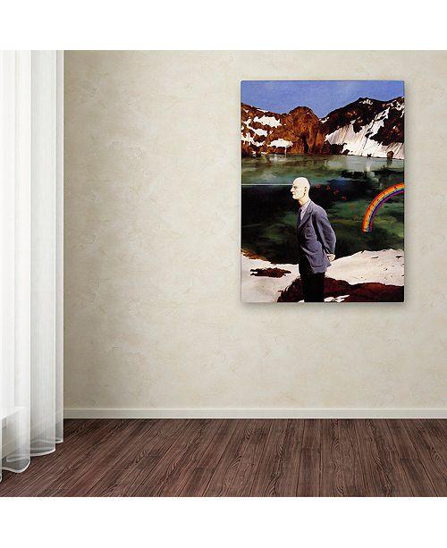 "Trademark Global Nick Bantock 'Wicklow' Canvas Art, 18"" x 24"""