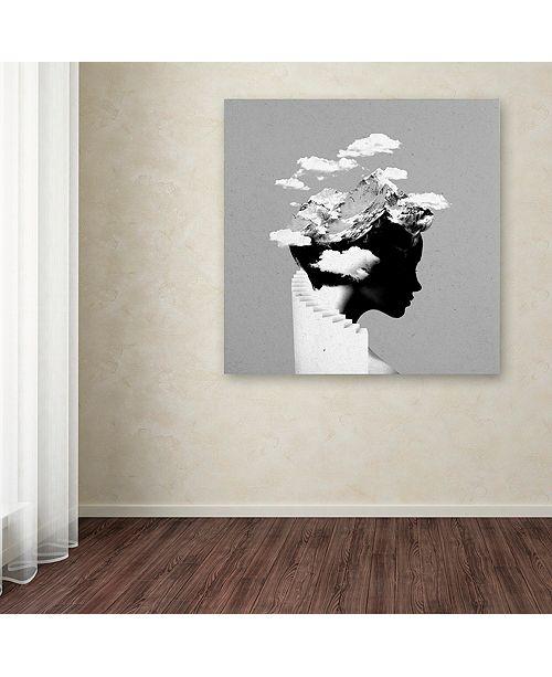 """Trademark Global Robert Farkas 'It's A Cloudy Day' Canvas Art, 35"""" x 35"""""""