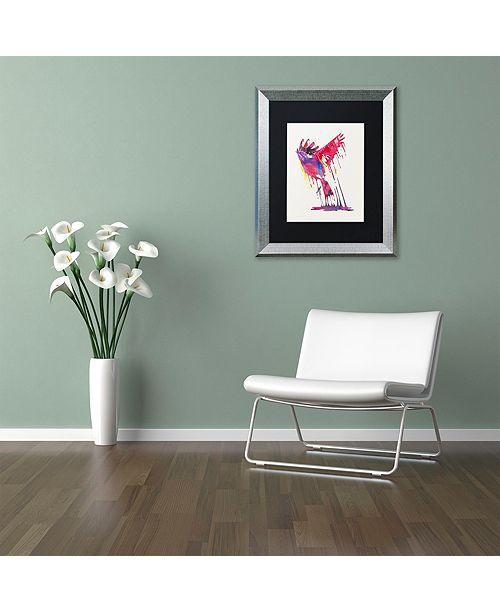 """Trademark Global Robert Farkas 'The Great Emerge' Matted Framed Art, 16"""" x 20"""""""