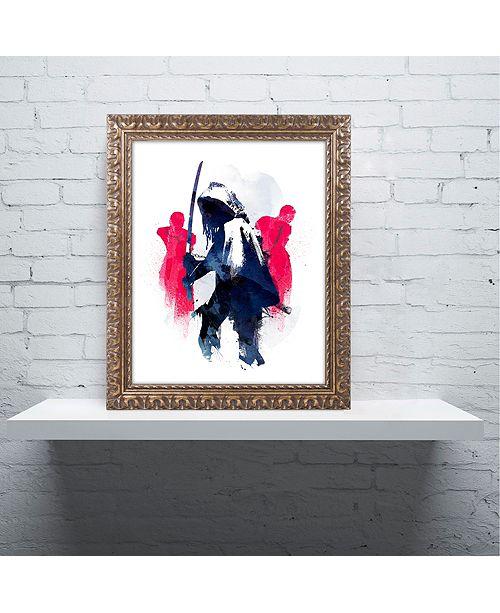 """Trademark Global Robert Farkas 'Michonne' Ornate Framed Art, 16"""" x 20"""""""