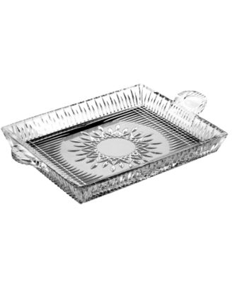 Serveware, Lismore Diamond Serving Tray