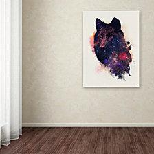 Robert Farkas 'Universal Wolf' Canvas Art