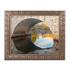 """Michael Blanchette Photography 'Picture in Picture' Ornate Framed Art, 16"""" x 20"""""""