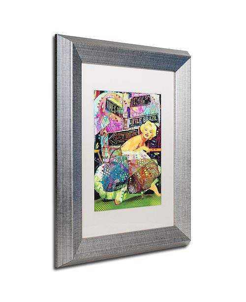"Trademark Global Dean Russo 'Marilyn In NYC' Matted Framed Art, 11"" x 14"""