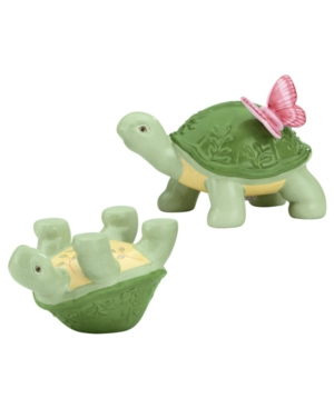 Lenox Serveware Butterfly Meadow Turtle Salt and Pepper Shakers
