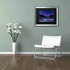 Michael Blanchette Photography 'Stars on Ice' Matted Framed Art
