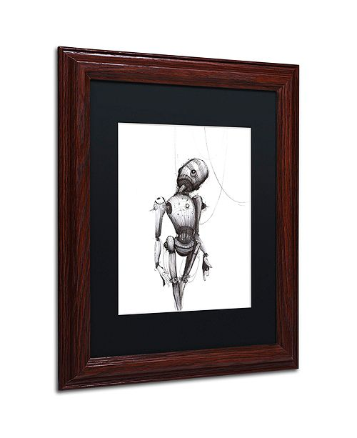 "Trademark Global Craig Snodgrass 'Disconnect' Matted Framed Art, 11"" x 14"""