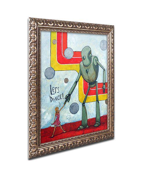 """Trademark Global Craig Snodgrass 'Let's Dance' Ornate Framed Art, 11"""" x 14"""""""