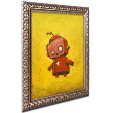 "Craig Snodgrass 'Red Robot Star' Ornate Framed Art, 16"" x 20"""