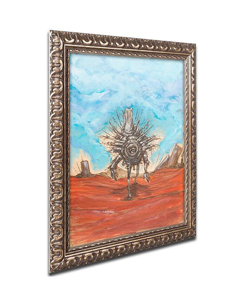 "Trademark Global Craig Snodgrass 'The Internet' Ornate Framed Art, 16"" x 20"""