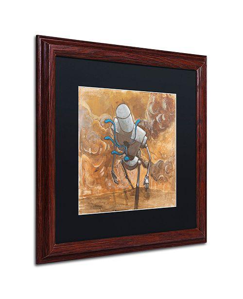 """Trademark Global Craig Snodgrass 'The Trooper' Matted Framed Art, 16"""" x 16"""""""