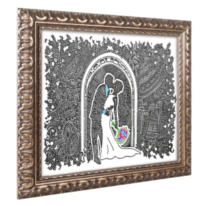Viz Art Ink 'Wedding...