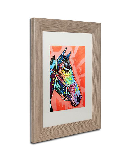 "Trademark Global Dean Russo 'WC Horse 3' Matted Framed Art, 11"" x 14"""