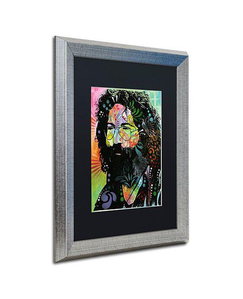"""Trademark Global Dean Russo 'Garcia' Matted Framed Art, 16"""" x 20"""""""
