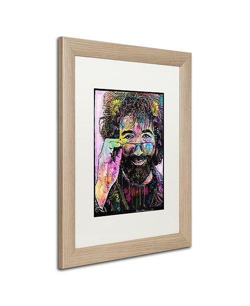 """Trademark Global Dean Russo 'Jerry Garcia' Matted Framed Art, 16"""" x 20"""""""