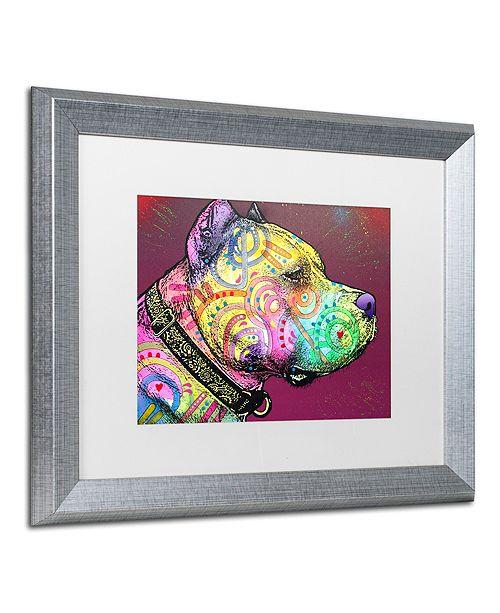 """Trademark Global Dean Russo 'Pitbull Soul' Matted Framed Art, 16"""" x 20"""""""
