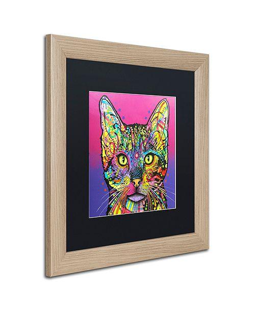 "Trademark Global Dean Russo 'Shiva' Matted Framed Art, 16"" x 16"""