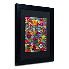 Hello Angel 'Autumn Jewels' Matted Framed Art