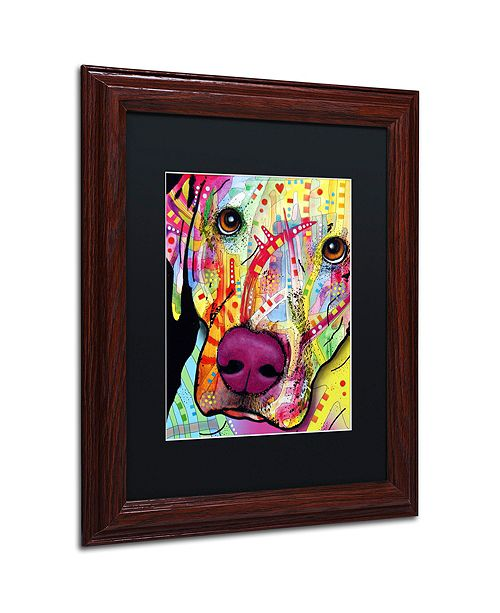 """Trademark Global Dean Russo 'Close Up Lab' Matted Framed Art, 11"""" x 14"""""""
