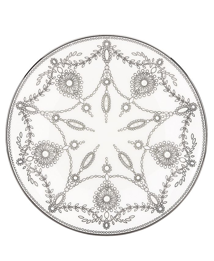Marchesa by Lenox - Empire Pearl Accent Plate