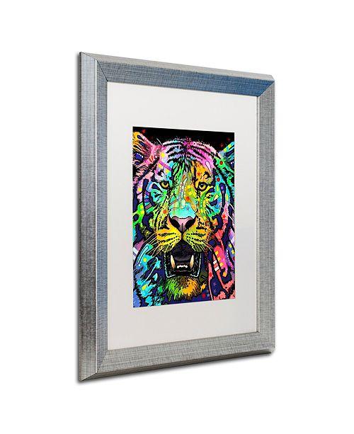"""Trademark Global Dean Russo 'Wild' Matted Framed Art, 16"""" x 20"""""""